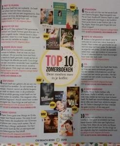 Top 10 zomerboeken