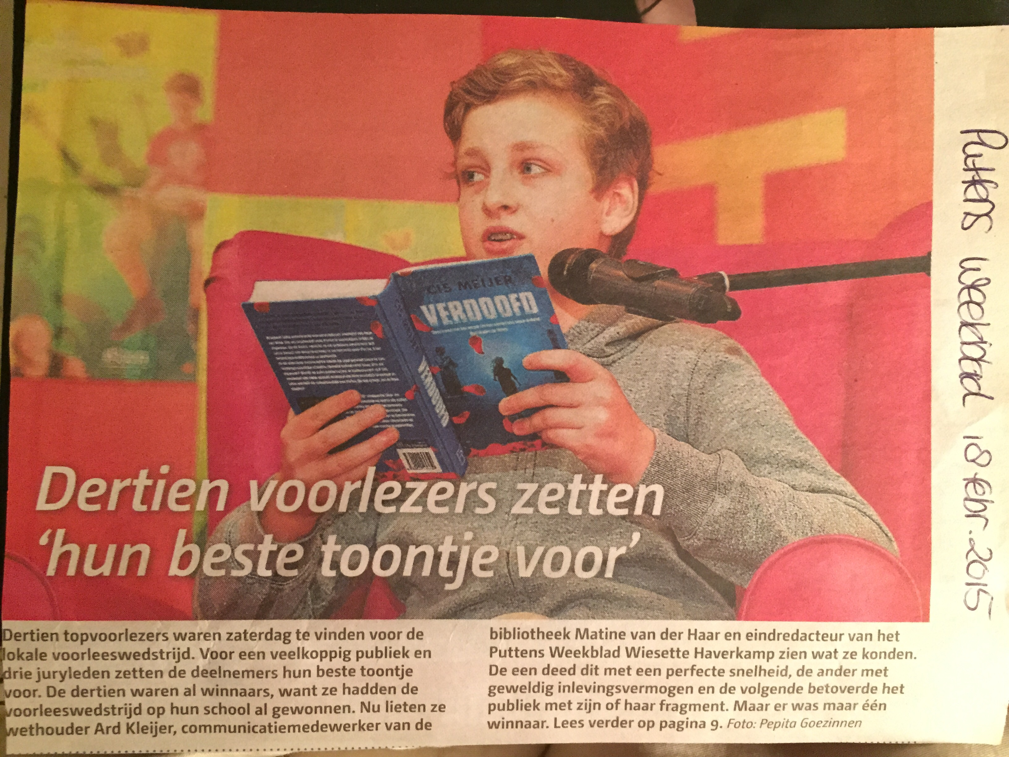 Puttens weekblad 18-02-2015